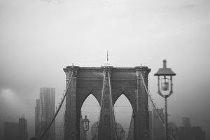 Brooklyn Bridge: Black & White