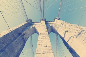 Brooklyn Bridge: Tower Arches