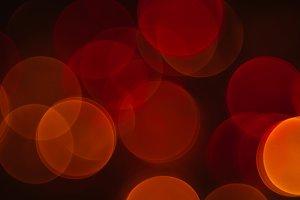 Bokeh: Orange