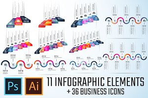 Infographics Template Vol.8