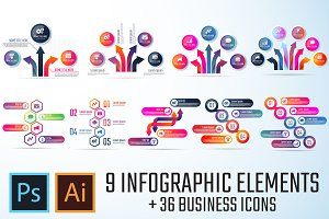 Infographics Template Vol.14