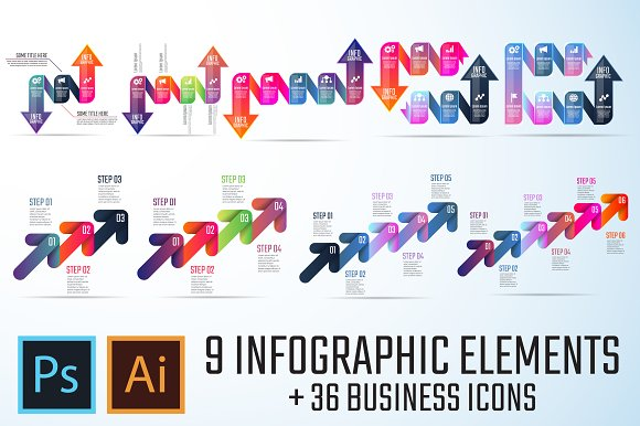 Infographics Template Vol.9