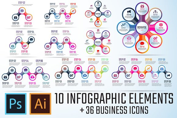 Infographics Template Vol.10