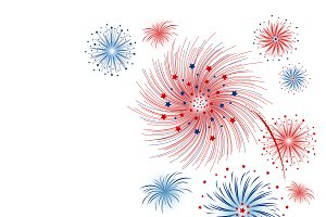 Vector firework design