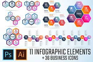 Infographics Template Vol.11