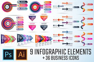 Infographics Template Vol.12