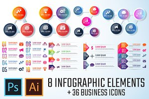 Infographics Template Vol.13
