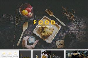 The Food Keynote Template