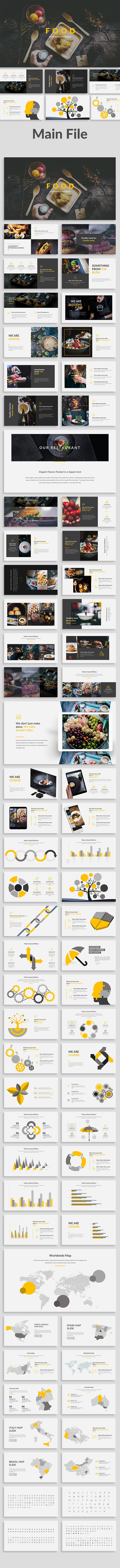 The Food Keynote Template
