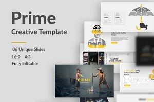 Prime Creative Keynote Template