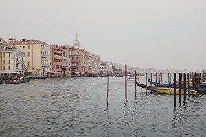 Foggy morning in Venice