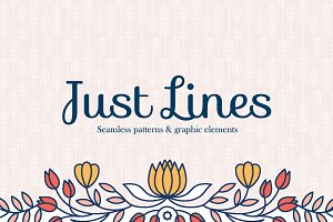 Just Lines patterns & graphics