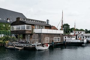 House Boat in Copenhagen