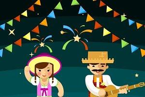 Party brazil celebration