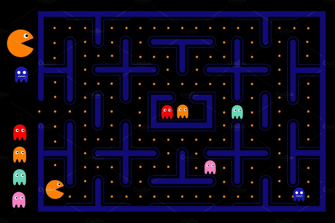 It's just an image of Impeccable Pics of Pacman