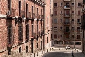 Madrid street.