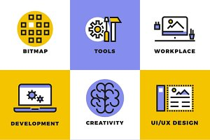 Website and user interface icons