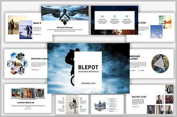 Blepot Powerpoint Template
