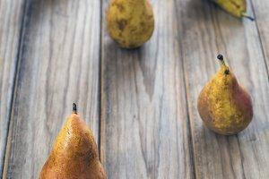 five pears