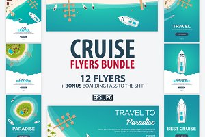 Cruise Flyers Bundle + Bonus