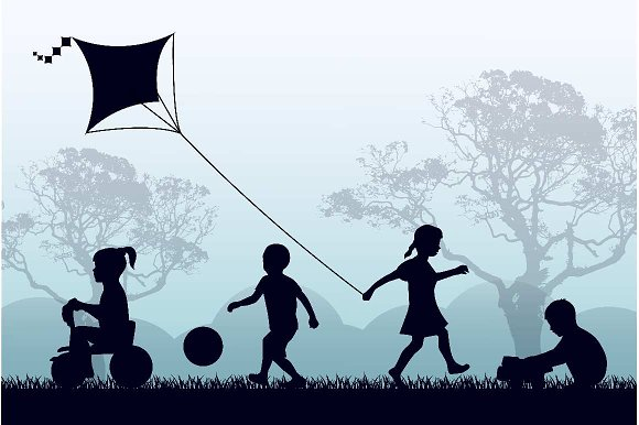 Territory Of A Happy Childhood