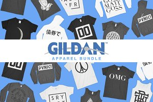 Gildan Mockup Bundle *UPDATED*