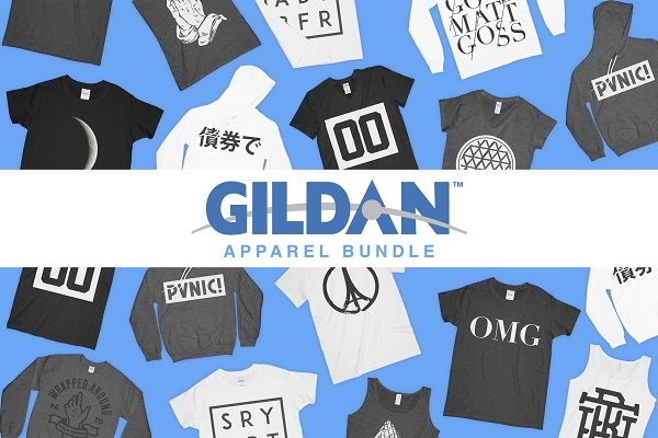 Gildan Mockup Bundle