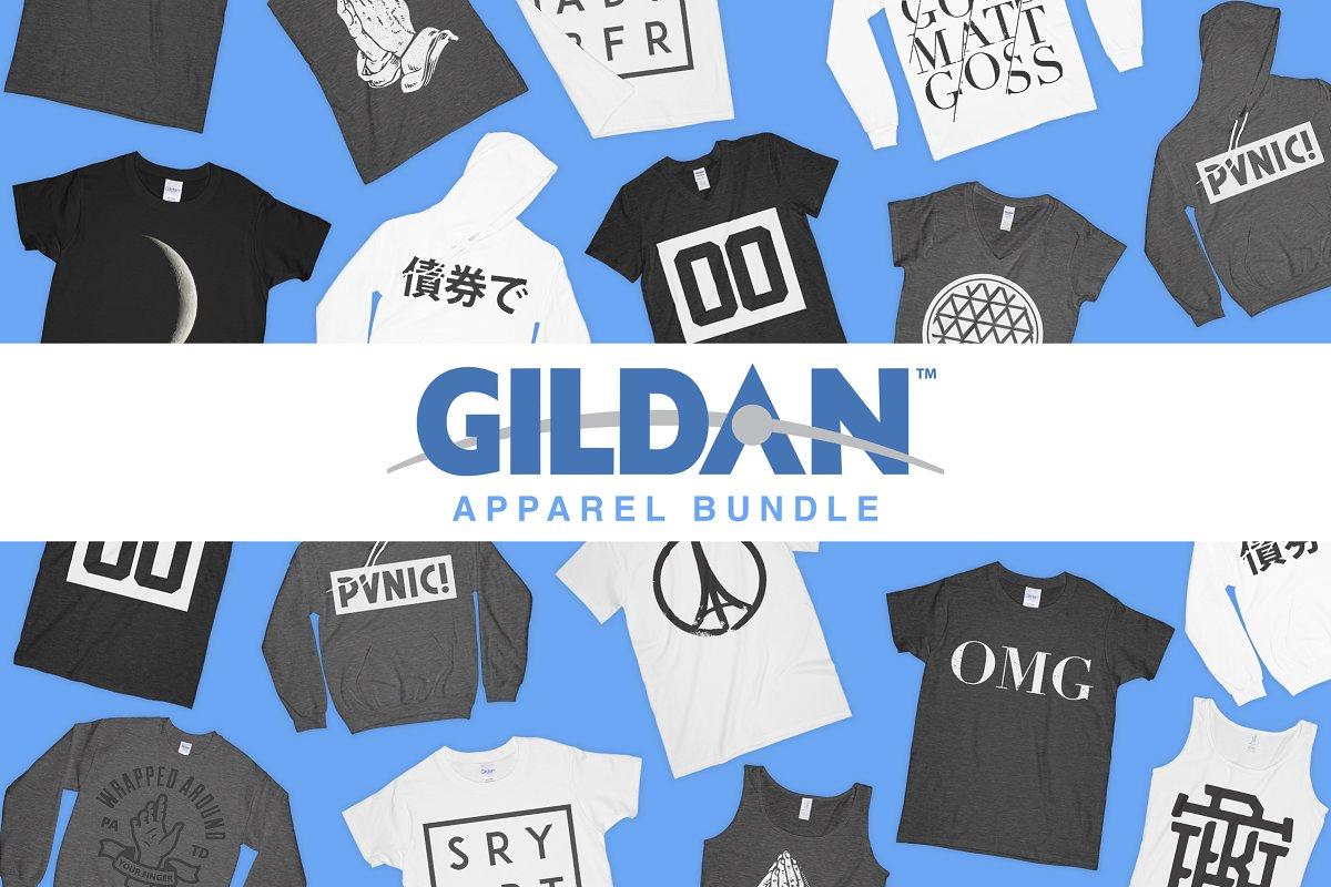 f8e58a50 Gildan Mockup Bundle ~ Product Mockups ~ Creative Market