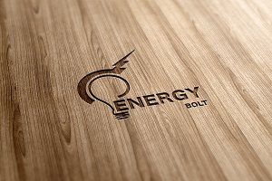 Energy Bolt Logo Design