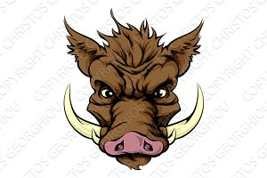 Boar mascot