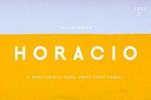 Horacio | A Prestigious Font Family