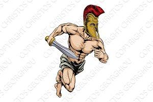 Gladiator mascot