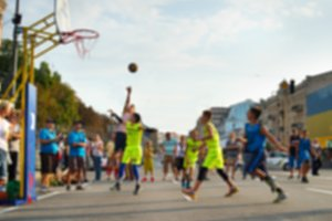 Blurred Streetball contest