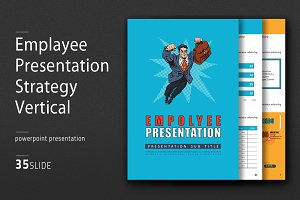 Employee Presentation Vertical
