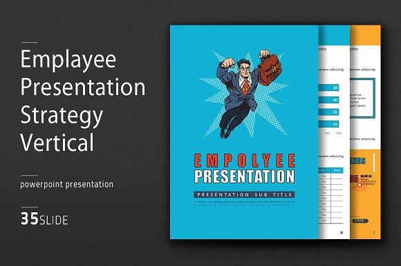 Employee Presentation Vertical