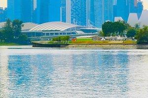 Singapore Downtown architecture