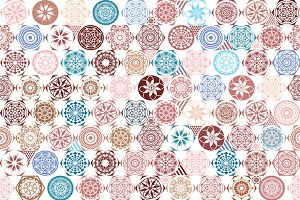 vector seamless patterns. tile
