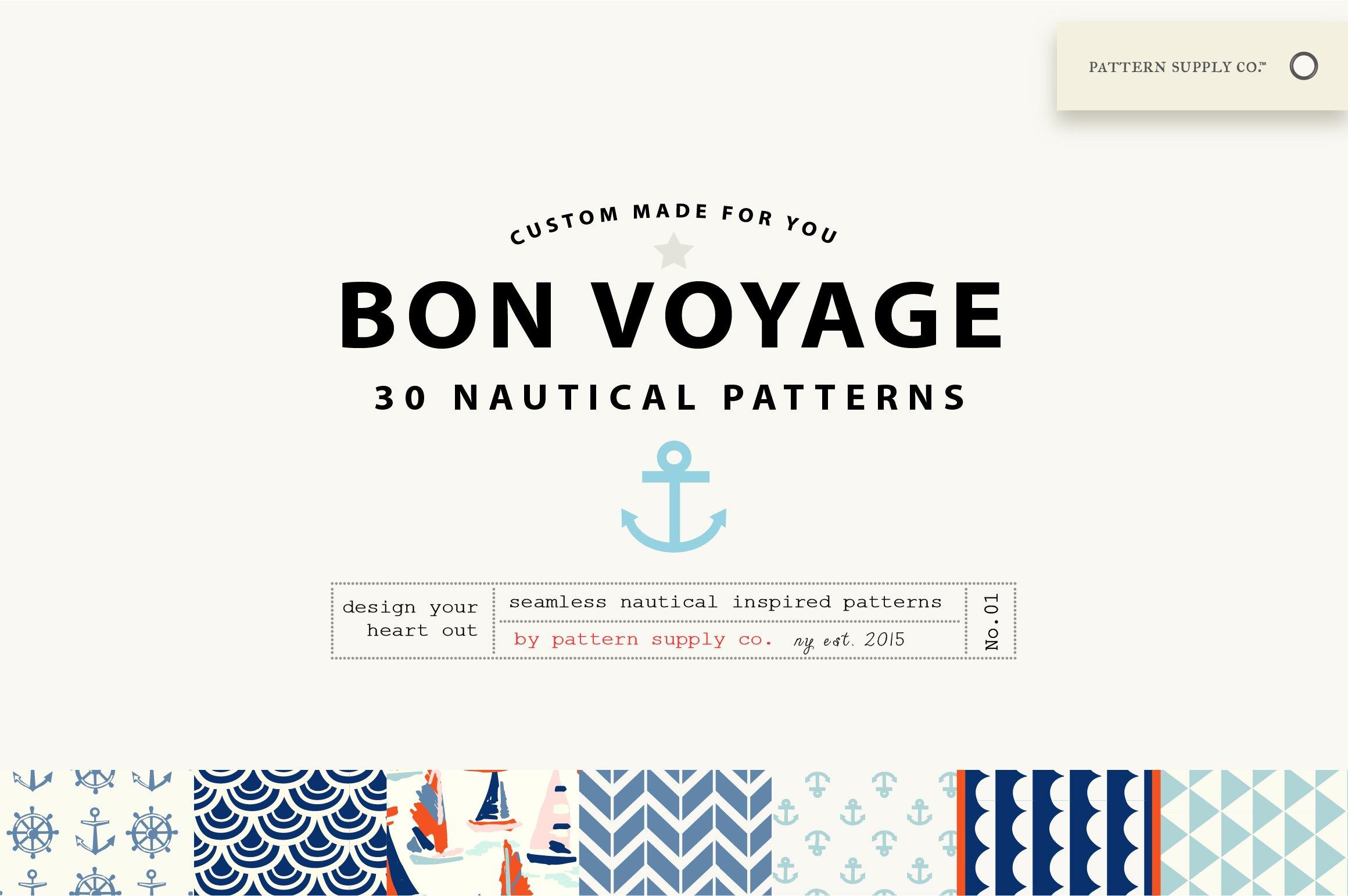 Nautical Patterns Graphic Creative Market