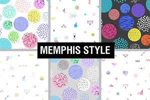 30 Memphis patterns