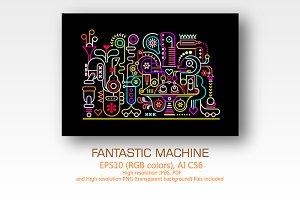 Fantastic Machine (3 options)