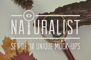 Naturalist: Set of Unique Mock-Ups