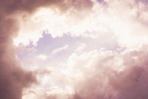 Abstract cloud sky overcast