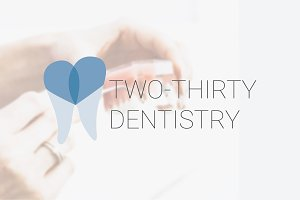 Dentist Logo - Clean Modern