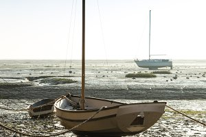 Boat at Low Tide, Leigh on Sea