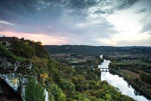 View of the Dordogne River