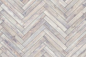 Seamless wood parquet texture (herringbone white)