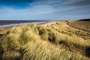 Windy Day ay Holkham Beach