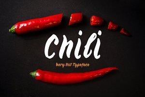 Chili—handwritten font