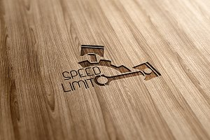 Speed Limit Logo Design