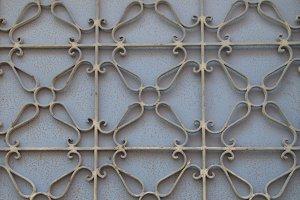 Metalwork Pattern Iron